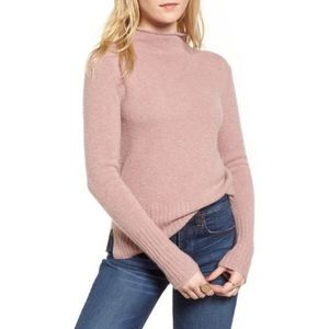 Madewell Inland Sweater Pink Sz Small